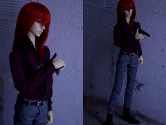 C.H.O.K.E (junjun_niki) Tags: bjd bjdoll bjdphotography sd immortality soul m dollzone body redhead red ball jointed doll