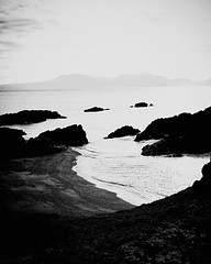 Time and tide (john29ch) Tags: ynysllanwyddn snowdonia landscape rocks sea anglesey silhouette wales coast bnw