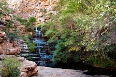 Stepping Falls _5714 (hkoons) Tags: moremigorge peacecorps southernafrica africa botswana debra palapye gorge hike hiking stream trail