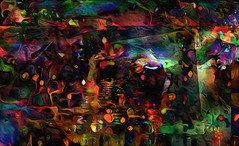 the deep... (Mark Noack) Tags: light color photoshop layers layering surreal expressionism abstract psychedelic futurist