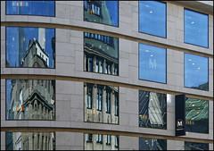 City view (Logris) Tags: düsseldorf dusseldorf dus windows fenster city stadt spiegelung reflection architektur architecture