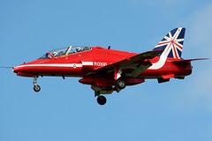 XX310 (GH@BHD) Tags: xx310 hawkersiddeley hs bae britishaerospace hawk hawkt1 raf royalairforce redarrows bfs egaa aldergrove belfastinternationalairport military jet trainer fighter aircraft aviation