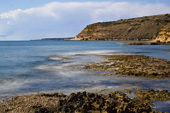 Cove long exposure 2 (jharwood23) Tags: canon 1300d long exposure 1855mm beach cliffs landscape