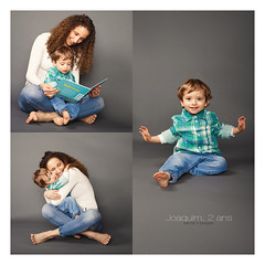 Joaquim, 2 years (Araminta Studio) Tags: child children boy mother family studio canonef2470mmf28lusm composite