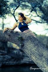 Neeha_0019 (Eric Durham) Tags: outdoor portrait naturallight austin texas atx model photoshoot canon eosr ef85mmf14lis nature greenbelt park tatoo tree cedarpark atxphotographer texasphotographer