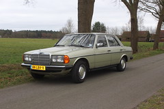 1983 Mercedes Benz 230E (Davydutchy) Tags: mercedes benz 230e w1123 sedan limousine auto automobiel automobile car voiture vehicle pkw bil автомобиль march 2019
