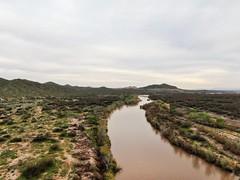 The Salt River near Mesa Arizona USA (rodeochiangmai) Tags: arizona river landscape