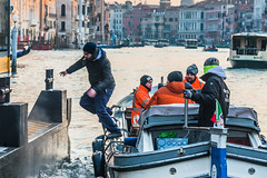 Might As Well Jump (Gerry Lynch/林奇格里) Tags: boats canal candid grandcanal italy street vaporetto venice exif:focallength=92mm exif:aperture=ƒ56 exif:isospeed=400 exif:make=nikoncorporation exif:lens=2401200mmf40 exif:model=nikond750 camera:model=nikond750 camera:make=nikoncorporation photography