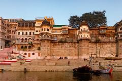 Varanasi, India (Ninara) Tags: varanasi india uttarpradesh ghat ganges ganga gangaaarti sadhu nagasadhu sunrise morning bathing holycity causatighat causatthi kashi benares