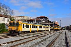 Valença do MInho (**REGFA**) Tags: tren train comboio valença do minho frontera comboios de portugal galiza galicia miño diesel renfe 592 596 man fiat linhadominho