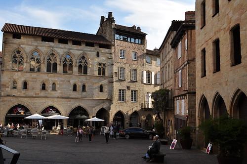 Commanderie des Templiers, place Champollion, Figeac, Quercy, Lot, Occitanie, France