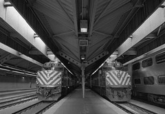 Ogilvie Transportation Center (Jovan Jimenez) Tags: ogilvietransportationcenter train station metra chicago canon eos rebel t2 tokina 1116mm kodak tmax p3200 35mm film lines grain analog analogue 300x kiss7