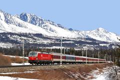 383-109 (Andrzej Szafoni) Tags: 383 383109 zssk siemens slovakia słowacja electric locomotive train railroad vectron
