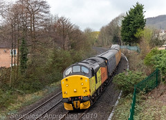 """Hard Days' Night"" (MSRail Photography) Tags: class37 37 colas networkrail serco"