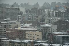 Seattle Snowmageddon 2019 14 (C.M. Keiner) Tags: seattle washington usa city cityscape skyline mountains pacific northwest puget sound snow blizzard winter storm urban