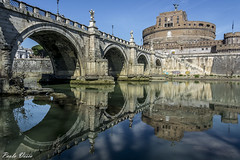 Riflessi (Pablos55) Tags: castelsantangelo ponte riflessi fiume fortezza bridge reflections river fortress