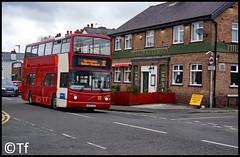Warrington's Own Buses - V105 LGC (2) (Tf91) Tags: warrington warringtonbus warringtonboroughtransport warringtonsownbuses v105lgc 32 155 penketh penkethestates volvo b7tl alx400
