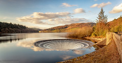 Lady Bower (andyyoung37) Tags: dam ladybowerreservoir peakdistrict waterreflections plughole sunset sunsetreflections theportal