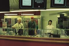 Serveringen på Lantis (Linzen004) Tags: stockholmsuniversitet resecentrum arbete