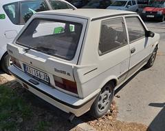 1994 Yugo Koral 55 CL (FromKG) Tags: yugo zastava koral 55 cl white car kragujevac serbia 2019