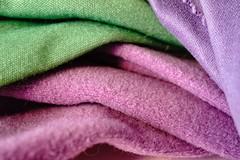 Waves (juliaturnau) Tags: colours macrophotography texture cloth pastel macromondays