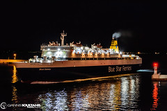 BLUE GALAXY (Giannis Soultanis Photography) Tags: bluegalaxy bluestarferries ships shipspotting shipphotography shiplover gsoult piraeus