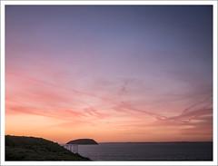 brean-down-sunset-1100647-090119 (Peadingle) Tags: sunset dusk brean down fort somerset