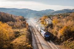 HZ 2062 036 & 2062 0xx, Ličko Lešće (josip_petrlic) Tags: hž hrvatske željeznice croatia railways railway railroad gm emd g26c licanka diesel locomotive lokomotiva lokomotive železnice željeznica teretni vlak freight train eisenbahn locomotora ferrovia hz 2062
