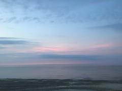 Cotton Candy sky (hannaschmitz) Tags: capecod ma massachusetts sandwichma beach shore water sand sky nature