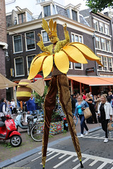 About the flowers and the bees .. (Rick & Bart) Tags: amsterdam mokum parade streetphotography rickvink canon eos70d everydaypeople people personnes streetparty