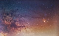 Antares region after Storm (BenedekM) Tags: nature astro astrography stars milkyway antares antaresregion starcloud cloud lights night nightsky sky object deepskyobject cluster nebula spring panorama view slovakia hungary hungarian nion nikond3200 nikkor50mmf18g beautiful longexposure