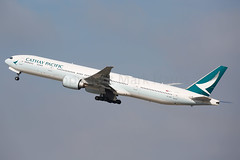 Cathay PAcific Boeing 777-367/ER B-KPR (Mark Harris photography) Tags: spotting lax la canon 5d aviation plane