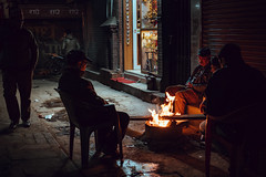 Warmth (danielhibell) Tags: kathmandu nepal travel asia discover explore world street streetphotography people religion culture ambience mood buddhism hinduism colour light praying moving special