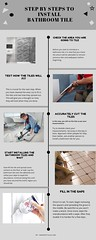 Step by Steps to Install bathroom tile (mytyles) Tags: ceramic tile bathroom