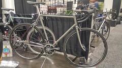 20190317_095611_HDR (AR Cycles) Tags: ar cycles nahbs 2019 bike show steel is real lug road randonneur frames stainless bead blast