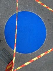Blue spot (rotabaga) Tags: sverige sweden göteborg gothenburg iphone