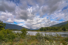 Under the sky of Tierra del Fuego... / Под небом Огненной Земли... (Vladimir Zhdanov) Tags: travel argentina tierradelfuego ushuaia mountains mountainside forest tree nothofagus grass field lake water landscape nature sky cloud