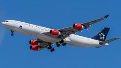 OY-KBM (gankp) Tags: washingtondullesinternationalairport arrivals airplanespotting planes