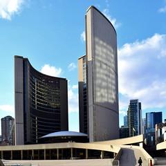 Curves in architecture (mrsparr) Tags: scavenger10 toronto cityhall allnewscavengerhunt ansh