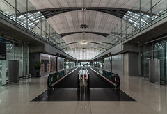 Passengers missing (sarah_presh) Tags: bangkok thailand airport interior architecture nikond750 nikon24120 walkway