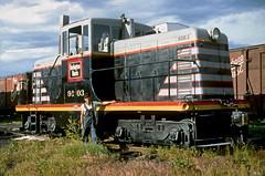 CB&Q GE 44 Ton 9103 (Chuck Zeiler 48Q) Tags: cbq ge 44 ton locomotive 9103 burlington railroad monmouth train alchione chz