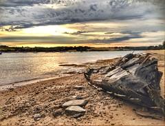 Les bateaux se cachent pour mourir. (G.Billon) Tags: beachscape seaside seascape dramaticsky clouds sunrise cameraphone iphoneography iphone breizh bretagne bzh épave boat 35 îleetvilaine saintbriac lefrémur 25122018 gbillon groupenuagesetciel