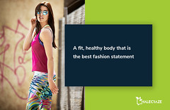 A Fit Healthy body that is the best fashion statement. (halecraze) Tags: a fit healthy body that is best fashion statement quotes fitness fitnessmotivation strongwomen