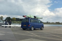 Caravelle Syncro (Sam Tait) Tags: bars rack roof kayak 1999 25 swb blue transporter van syncro diesel turbo tdi volkswagen vw