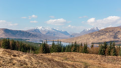 The Highlands.. (PhredKH) Tags: 2470mm canoneos5dmkiii canonphotography ef2470mmf4lisusm fredknoxhooke fredkh landscapes loch mountains photosbyphredkh phredkh scotland splendid travelphotography traveltoscotland trees bluesky clouds scenic scenicview scottishlandscape snowcapped water