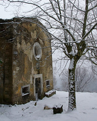 La vecchia Cappella e la neve (Darea62) Tags: snow winter tree chapel ancient church seravezza azzano versilia tuscany toscana italy inverno cold weather architecture old mood
