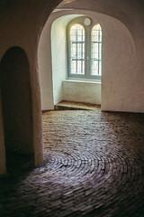 Rundetårn / Round Tower, Copenhagen (gbrammer) Tags: 35mm c41 contaxiia sonnar5015 zeissikon copenhagen film portra400 rangefinder