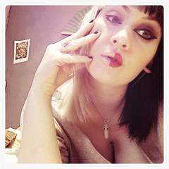 (colletteward1) Tags: selfie selfportrait lightanddark makeup split