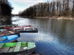 DUNA-HOLTÁG (petyhh) Tags: hdr boats boat duna nature river