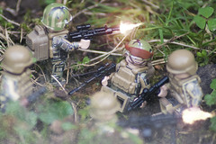 Joint Ops (LegoInTheWild) Tags: moc afol lego minifigure brickarms unitedbricks sidan